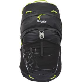 Bergans Rondane 30l Daypack Black/Neon Green